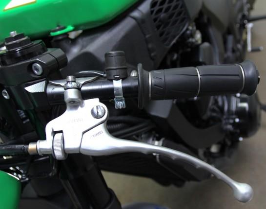 Modern Cafe Racer   2012 Kawasaki Z1000 Cafe Racer   Custom Motorcycle   Lossa Engineering