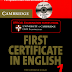 Cambridge - First Certificate in English 1