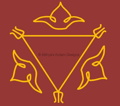 3 Navagraha Kolam | Surya Bhagavan | Sunday