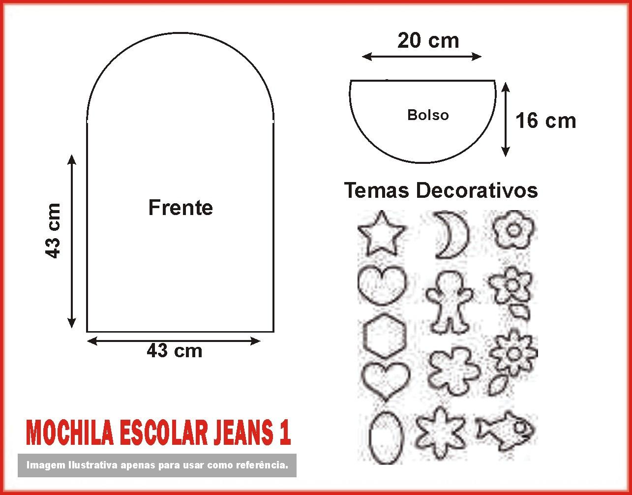 Dicas de Artesanato Facil: Mochila Jeans