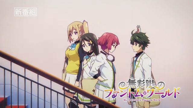 Video Iklan Anime 'Musaigen no Phantom World' Ungkapkan Tanggal Tayang