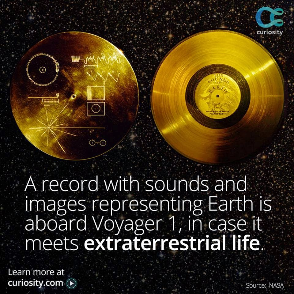 Voayager 1's Golden Record tracks