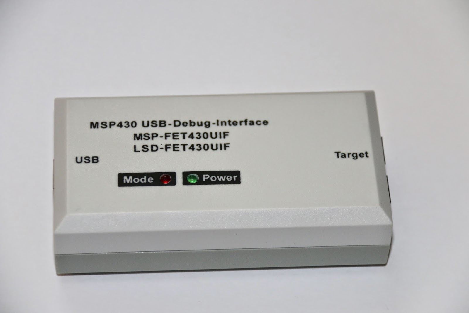 MSP430 USB Debug