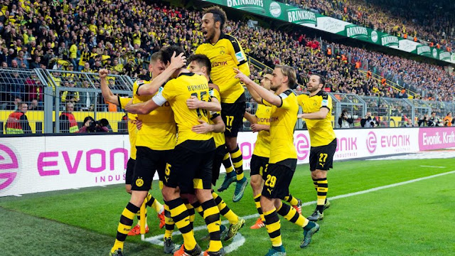Hasil laga Borussia Dortmund 3-2 Schalke