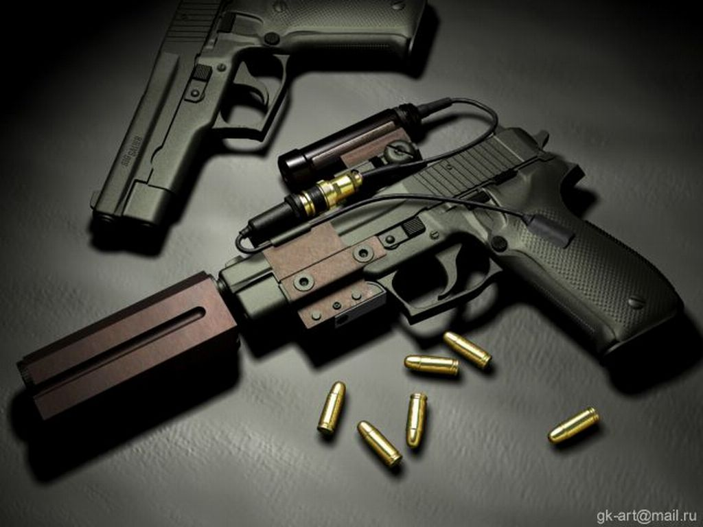 Cool guns wallpapers 1