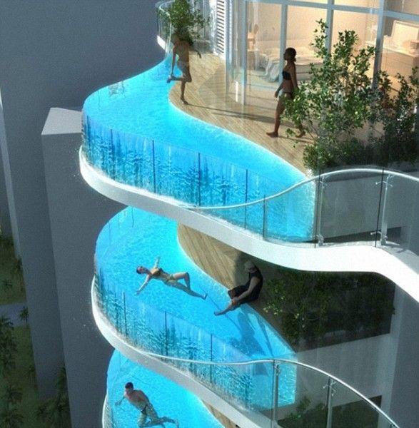 apartemen kolam renang