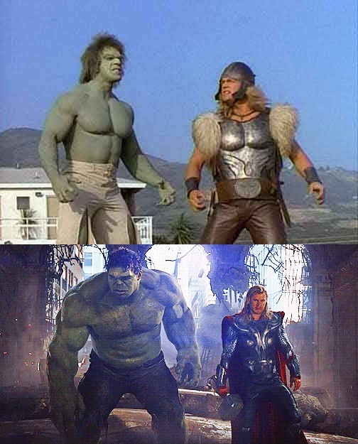 Hulk And Thor - Only 34 Years Later!