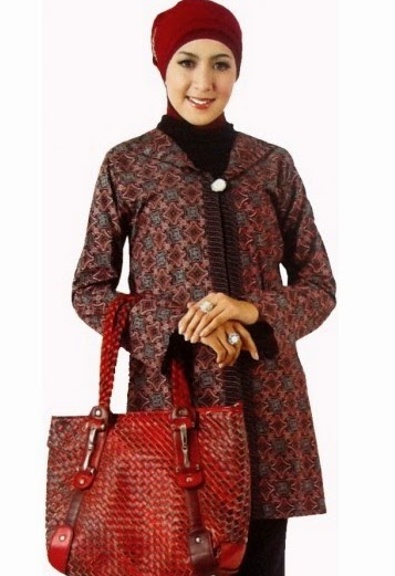 Contoh iModeli Baju Batik iKerjai iWanitai iModeli Baju Terbaru