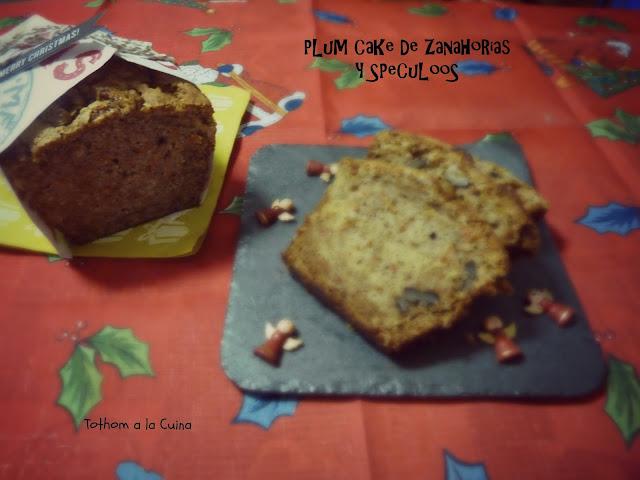Plum Cake De Zanahorias Y Speculoos