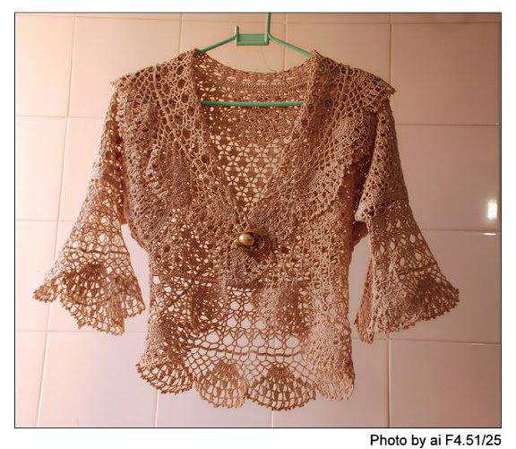 Free Crochet Patterns Bolero Jackets : ?????? ?????? ?????? - crochet bolero pattern ~ ??? ???? ...