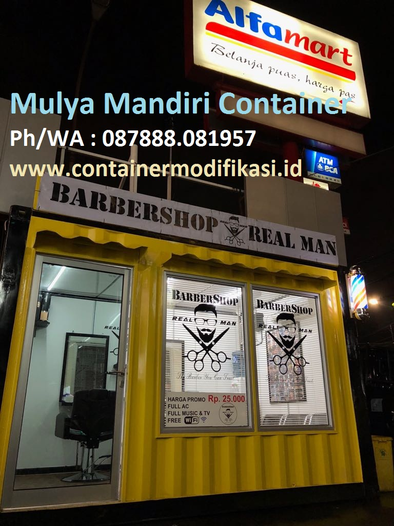 CONTAINER BARBER SHOP