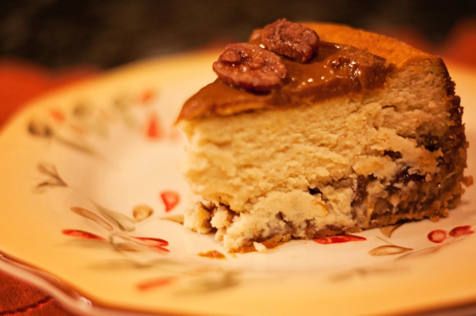 Pecan Pie Cheesecake - Aunt Bee's Recipes