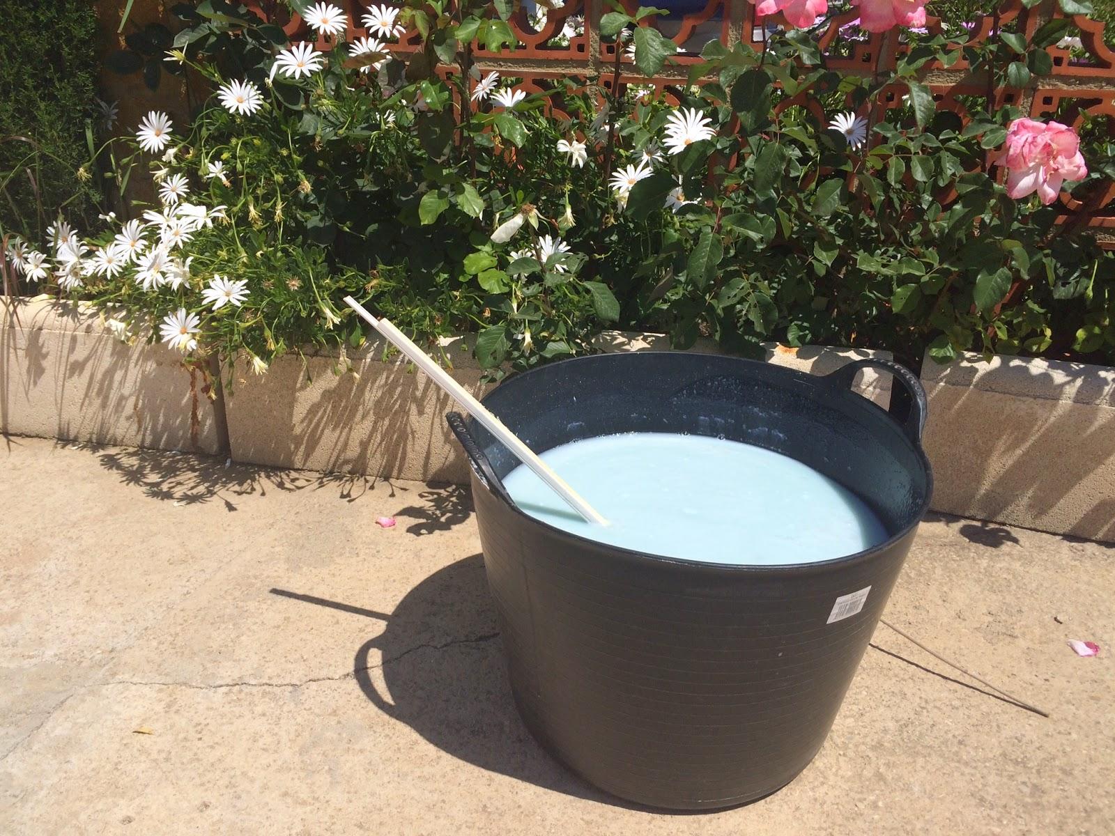El blog de lorenna detergente casero para la lavadora - Jabon lavadora casero ...