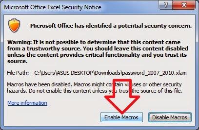 Remove Password Microsoft Office Excel