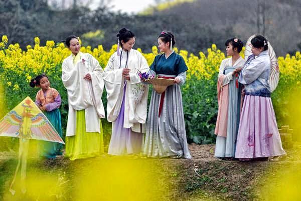 Klassische chinesische Kleidung in der Welt von heute   Gerrys Blog