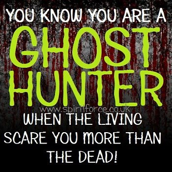 scared sheetless paranormal humor oh yes this is true