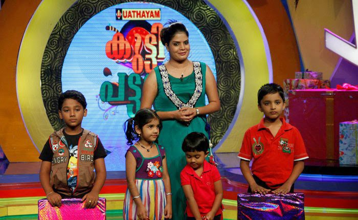 Subi Suresh Kutty Pattalam Anchor Hot S