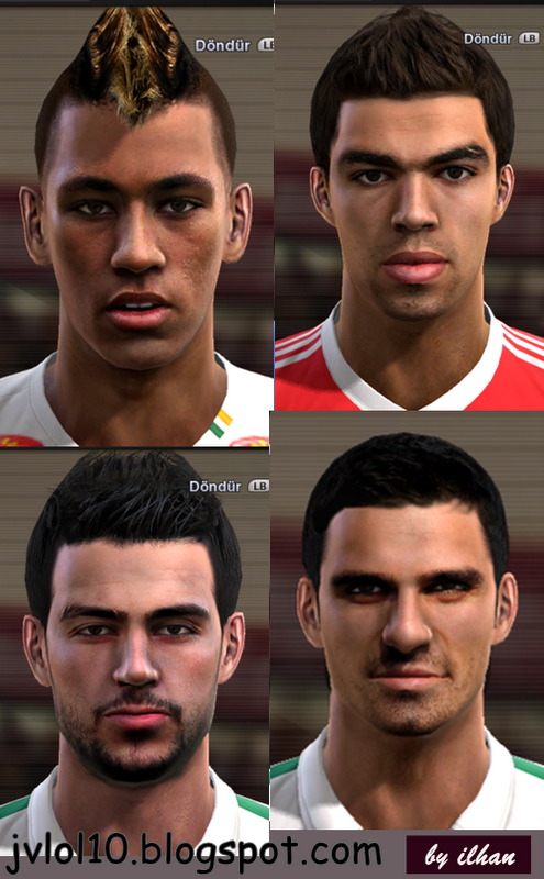 Bursaspor e Face de Turgay Bahadir do Bursaspor para PES 2012 Download