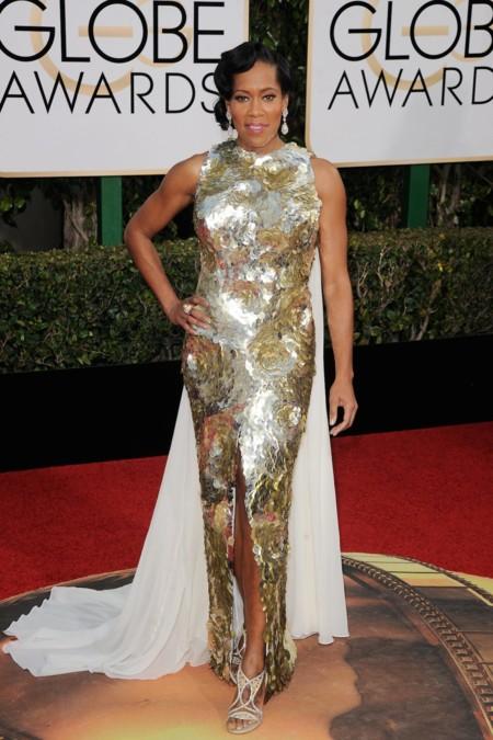 Regina King vestida de Krikon Jabotian en los Golden Globes, enero 2016