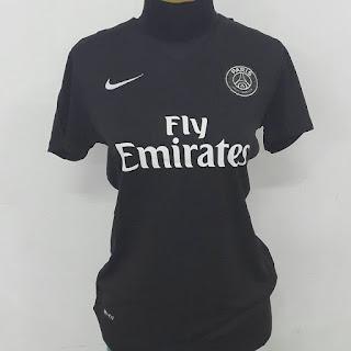 gamabr desain terbaru photo kamera Jersey ladies PSG third terbaru musim 2015/2016 di enkosa sport tok online pakaian bola terpercaya lokasi jakarta tanah abang