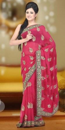 Latest-Wedding-Saree-Collection 2013-14
