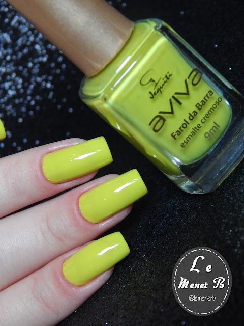 esmalte amarelo citrico