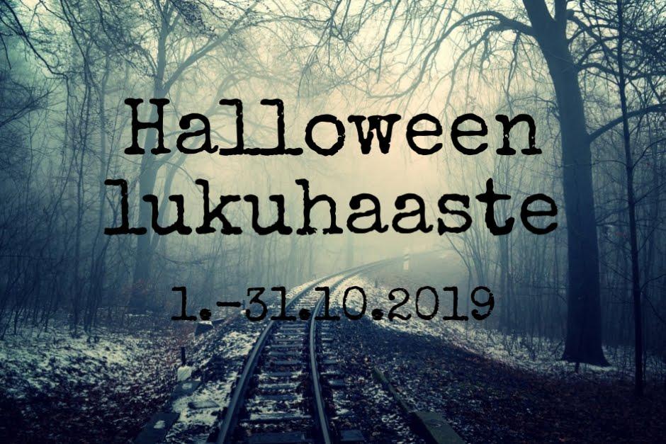 Halloween -lukuhaaste (1.-31.10.2019)