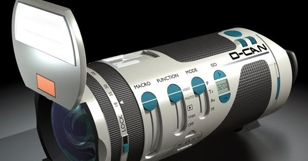 D-CAN: A futuristic cylindrical camera