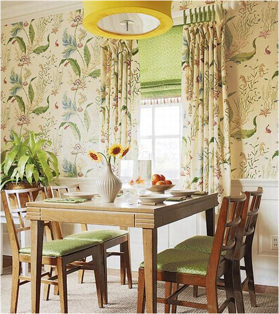 French country dining room design ideas home interior for Country dining room decor