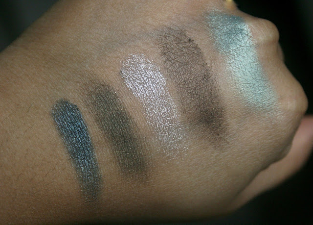 Dior Mystic Metallics 5 Couleurs Eyeshadow Palette in Bonne Etoile Swatches