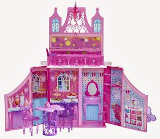 Il Castello della Principessa delle Fate Barbie Mariposa Natale 2013