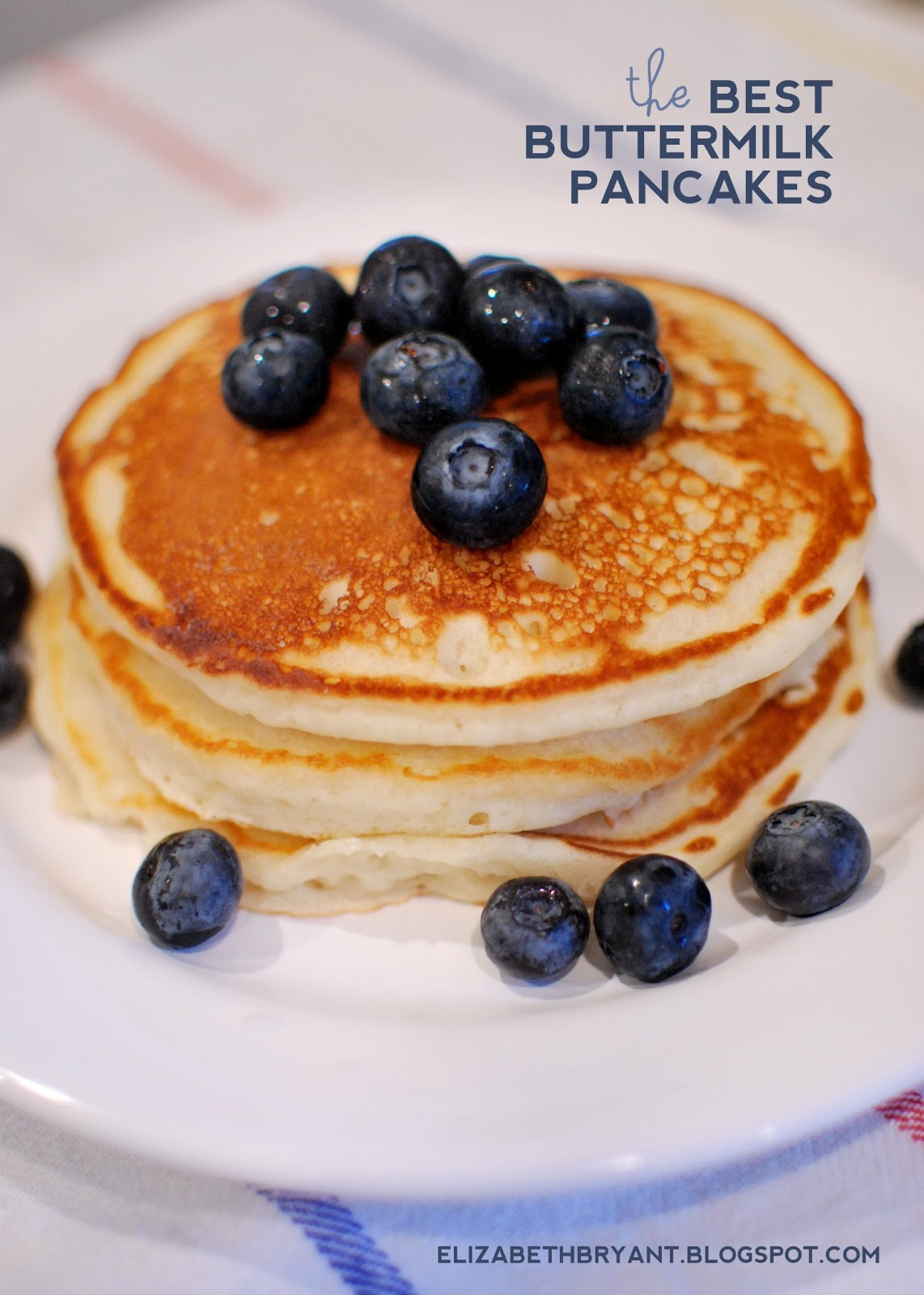 lizzy write: the best buttermilk pancakes