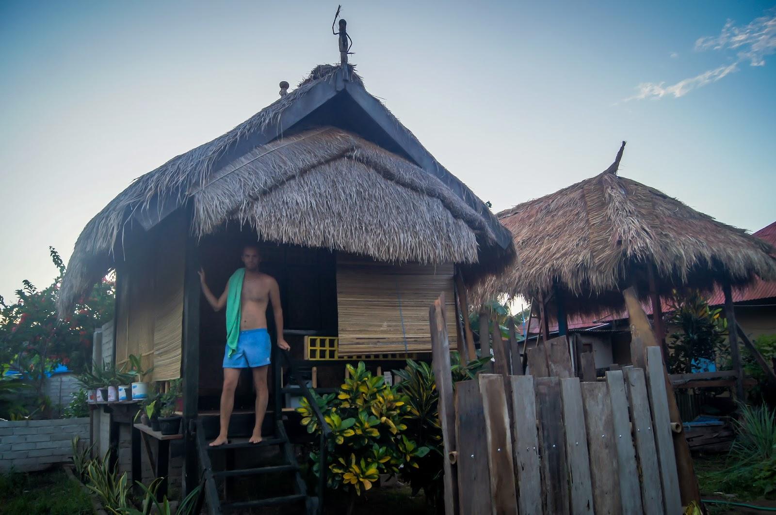 cabaña en Gili Air
