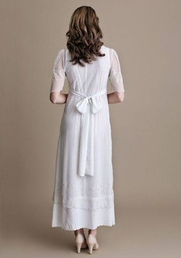 Nanette Ruche Wedding Dress: Affordable Wedding Dresses - Edwardian