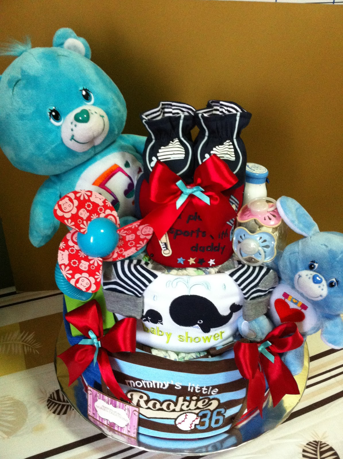 Baby Gift Creations : Nurie s creations diaper cakes baby gifts tiers