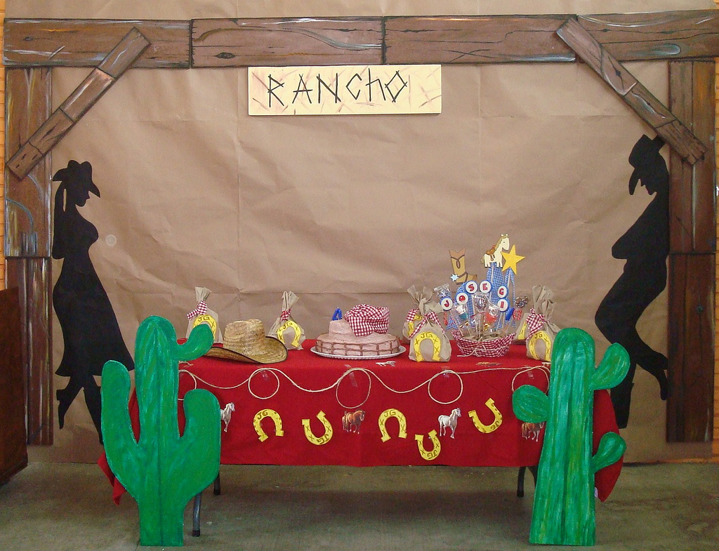 Toque creativo fiesta vaquera - Decoracion mesas fiestas ...