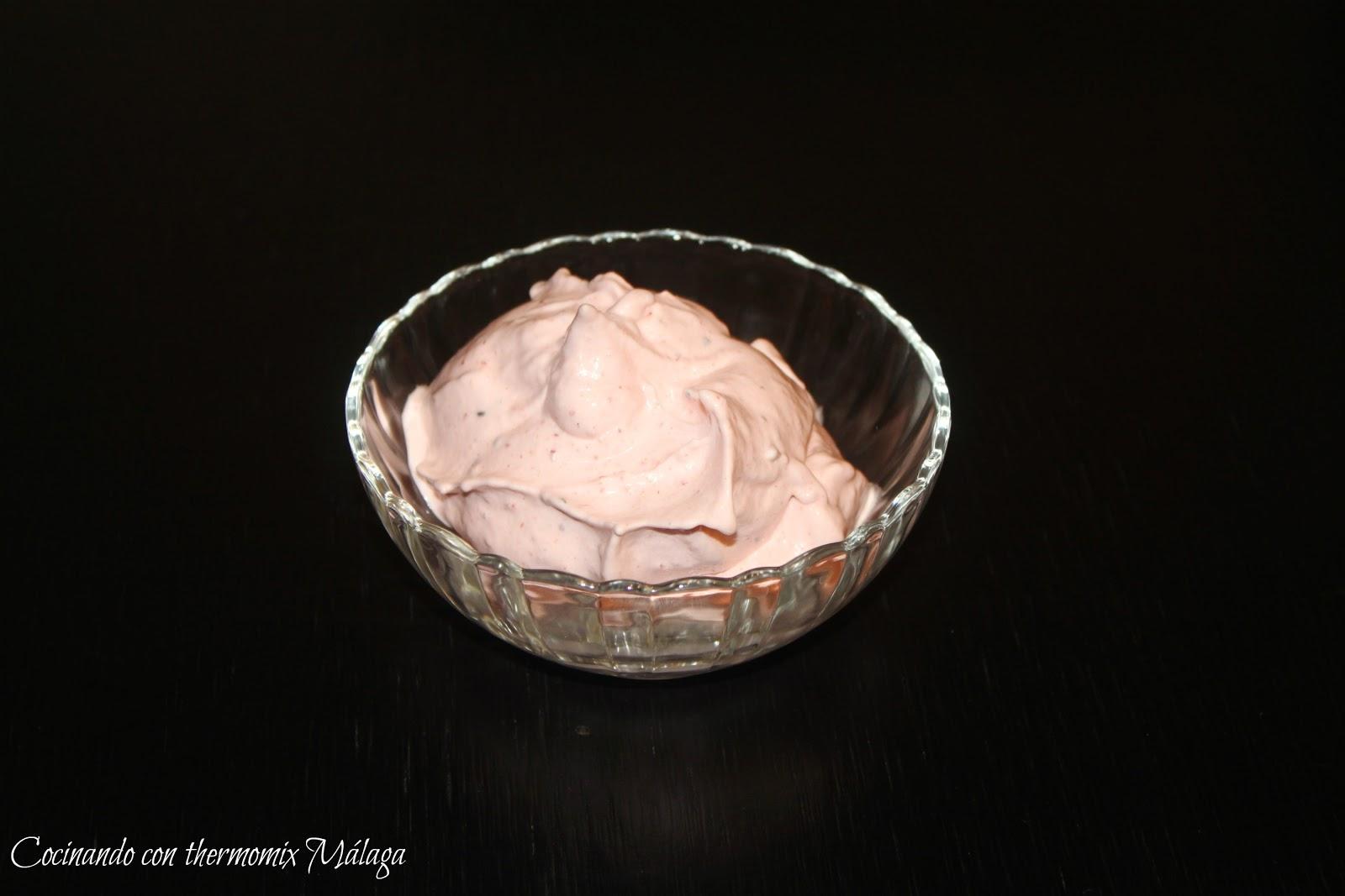 Cocinando con thermomix malaga espuma de frutas congeladas for Cocinando 15 minutos con jamie