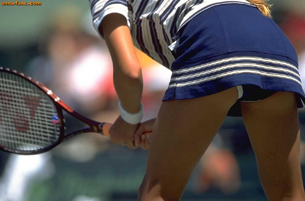 tennis upskirt Anna
