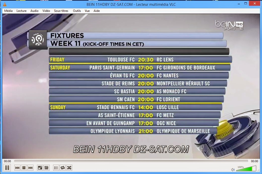 قنوات beIN Sports من HD1 إلى HD12 بجودة جد عالية