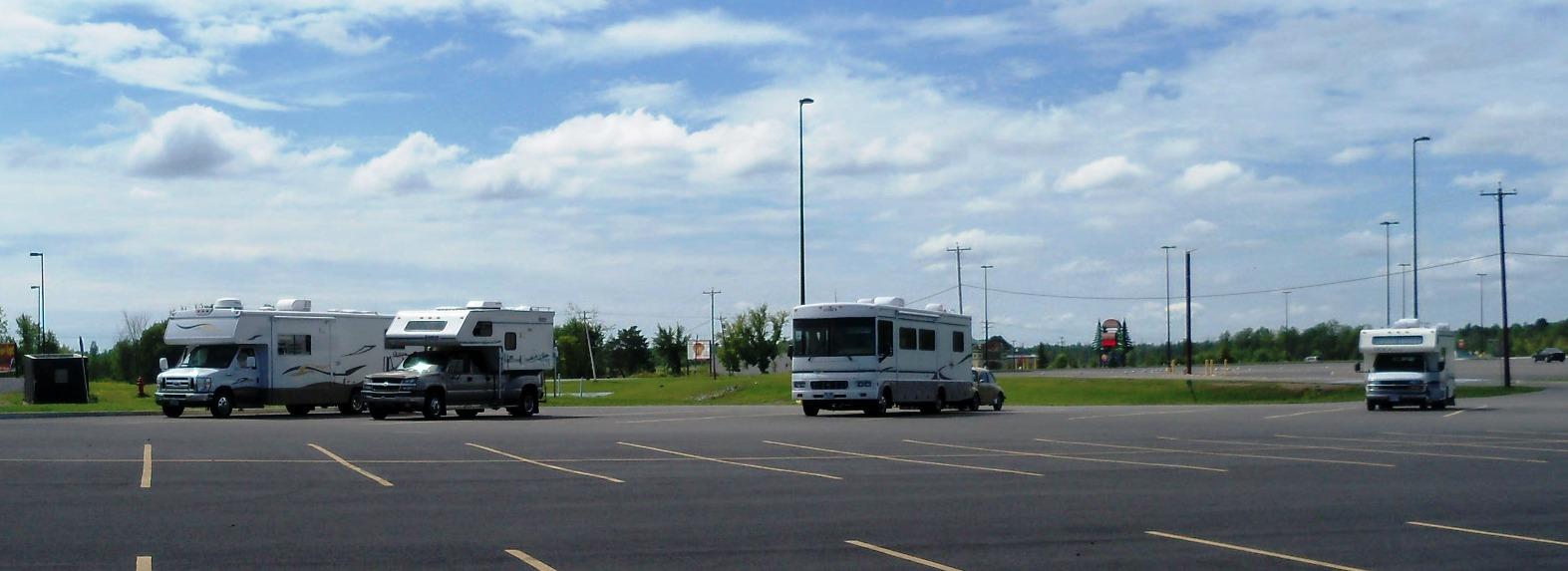 Montreal casino rv parking