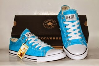 Sepatu Converse All Star Biru Muda murah harga grosir