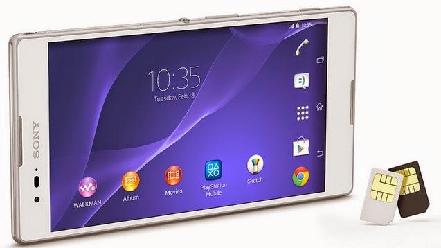 Sony Xperia T2 Ultra Dual Android Harga Rp 3 Jutaan
