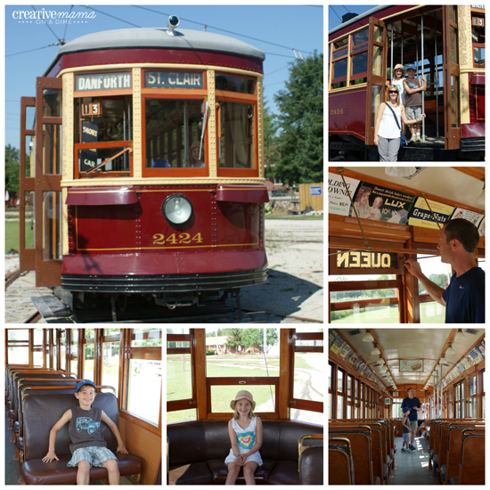 Canadian Heritage Passport - Halton County Radial Railway in Milton, Ontario