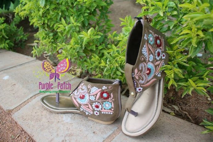 Eid/Winter Collection by Purple Patch 2011 | Purple Patch Sandals Eid Collection-2011
