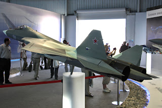 Sukhoi's FGFA Stealth Fighter