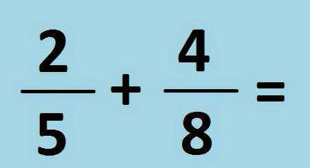 Suma de fracciones con denominadores diferentes examen for Cuanto es un cuarto