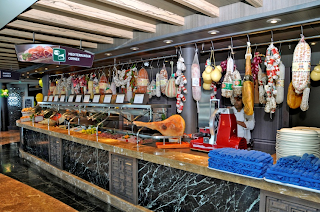 MSC Cruises Redesigned Buffet Area and menu