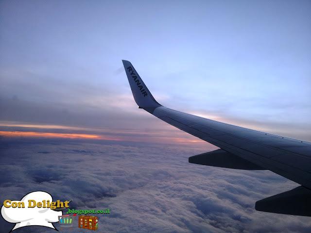 ריינאייר בשמיים Ryanair in the sky