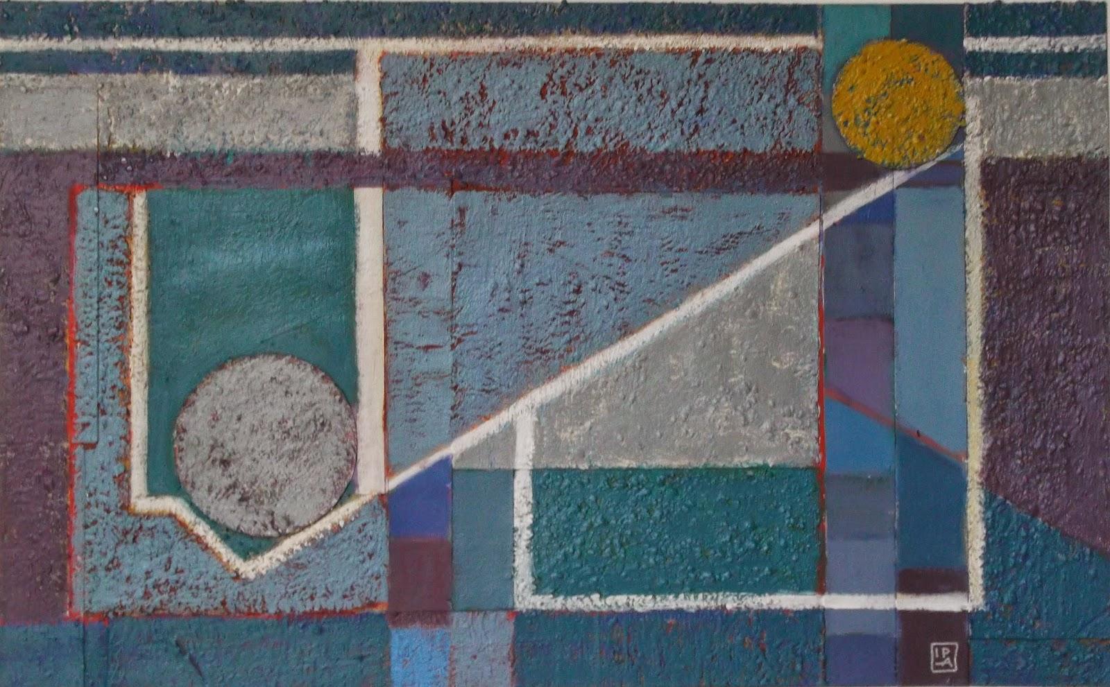 Arte abstracto, composición geométrica by Ima Pérez-Albert