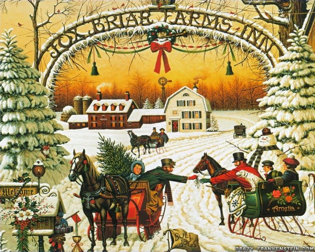 Old fashioned christmas carols 70